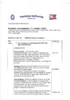 Budsjett – strategimøte 17. oktober 2009