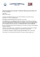 Referat ekstraordinært styremøte 24.10.17
