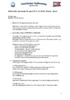 Referat fra styremøte 20.04.17