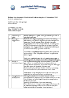 Referat styremøte 12.12.17