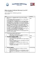 Referat styremøte 14.06.17