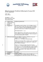 Referat styremøte nr. 1 2018