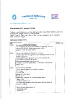 Styremøte 10. januar 2012
