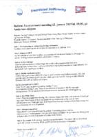 Styremøte 12. januar 2015