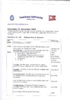 Styremøte 16. november 2009