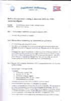 Styremøte 2. desember 2015