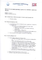 Styremøte 6. januar 2014