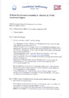 Styremøte 6. oktober 2014