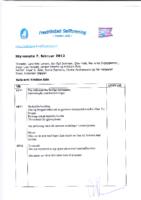Styremøte 7. februar 2012