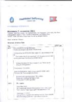 Styremøte 7. november 2011