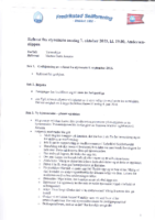 Styremøte 7. oktober 2015