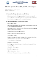 styremøtereferat 20.03.17