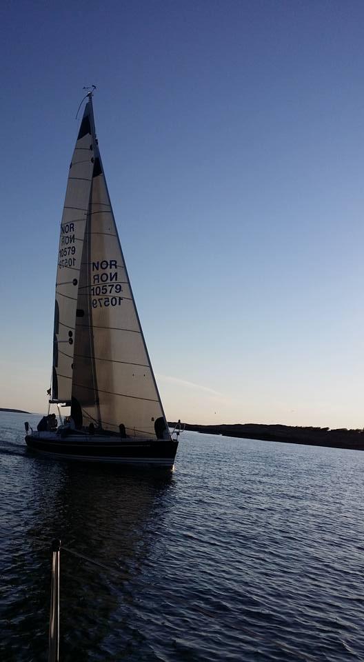 En seilbåt