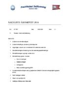 Saksliste – årsmøtet18